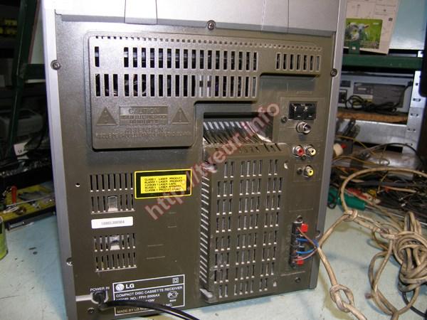 музыкальный центр lg ffh-2000k схема