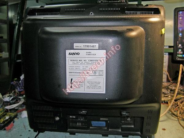 какие неисправности в телевизоре санио